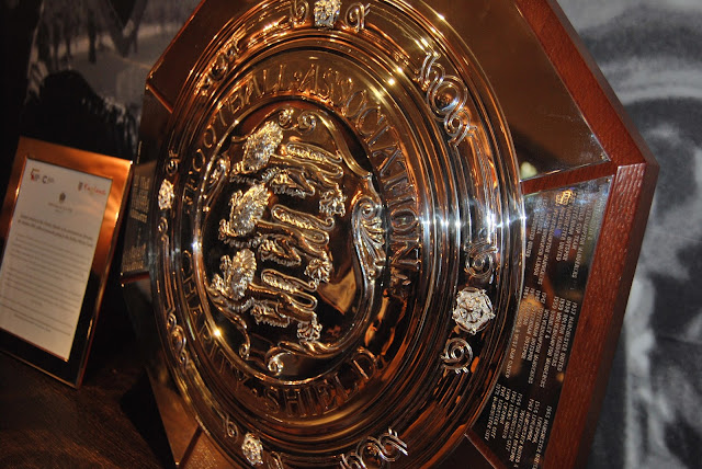 FA Charity shield in the Bobby Moore lounge at Royal Garden Hotel, photo by Modern Bric a Brac