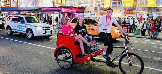 New York Pedicab Rickshaw Tours - Pedicab Services
