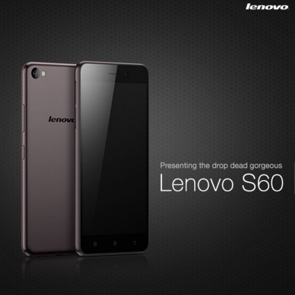 Harga HP Lenovo S60 Tahun 2017 Lengkap Dengan Spesifikasi, RAM 2GB Kamera Utama 13 MP