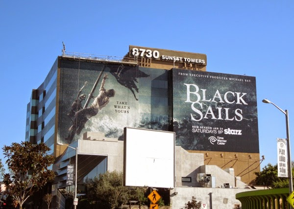 Giant Black Sails season 2 billboard