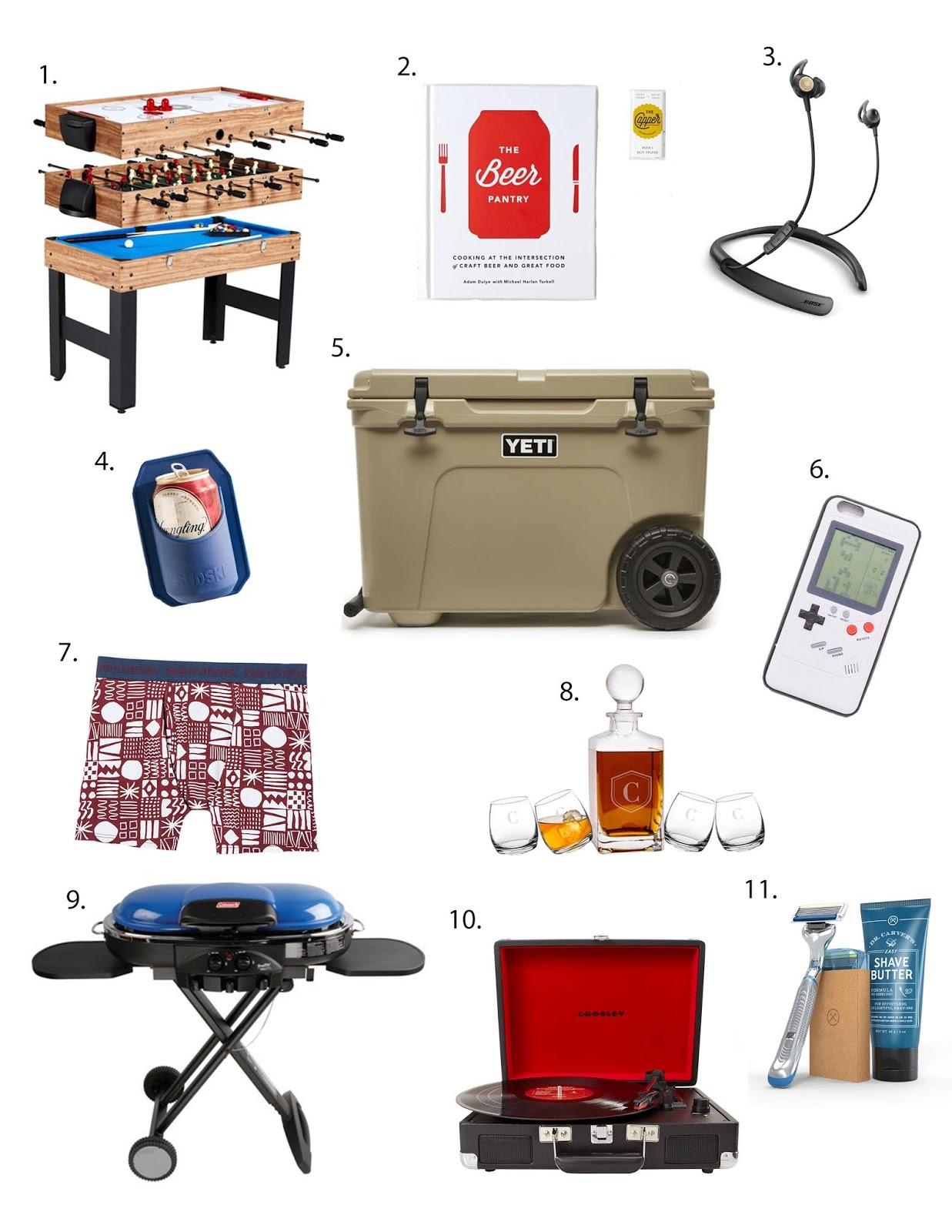 10 Gift Ideas For Him Sparkles And Sunshine Blog
