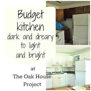 The Oak house project budget remodel, before and after pictures!!!