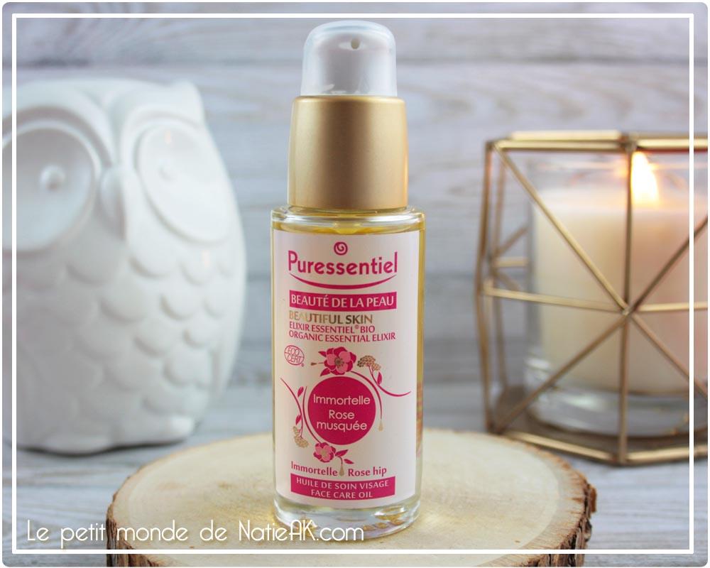 Elixir essentiel bio  beauté de la peau Puressentiel