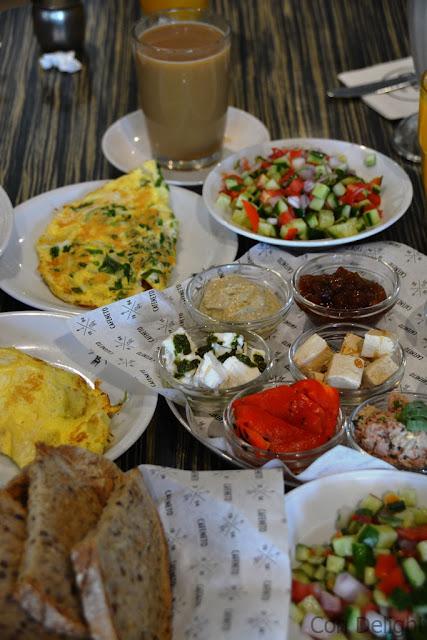 ארוחת בוקר קפהנטו cafeneto israel