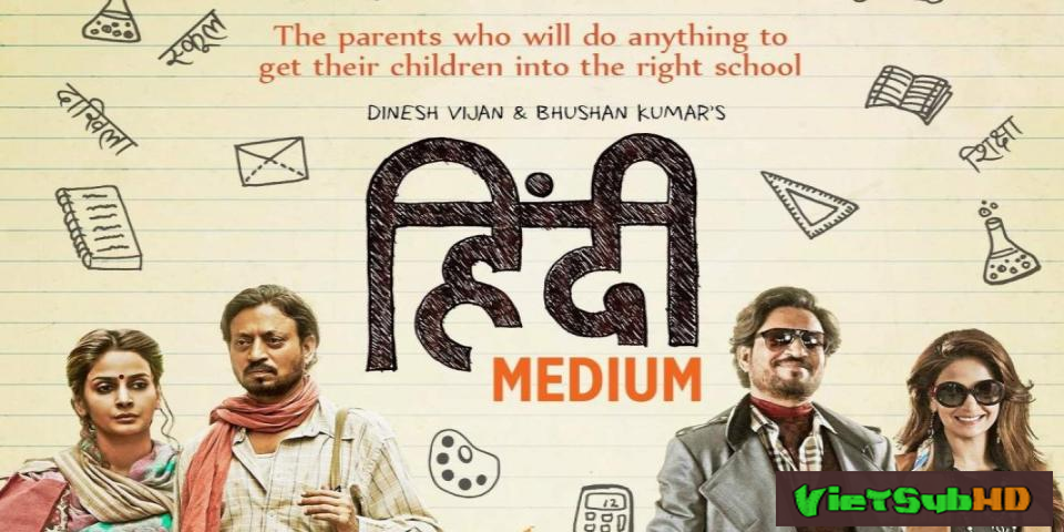 Phim Cuộc chiến phụ huynh VietSub HD | Hindi Medium 2017