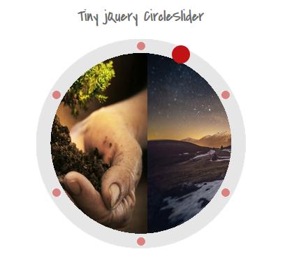 tiny jquery circleslider, image slider
