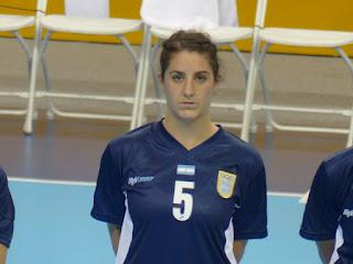 Manuela Pizzo Argentina Handball