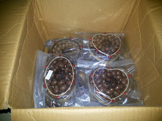 Jual Coklat Delfi Mete Almond Packing Siap Kirim