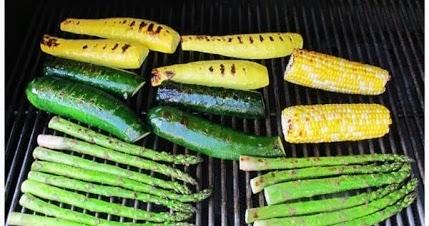 Grilled+vegetable+salad