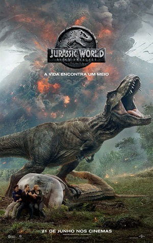 Jurassic World - Reino Ameaçado - CINEMA Filme Torrent Download