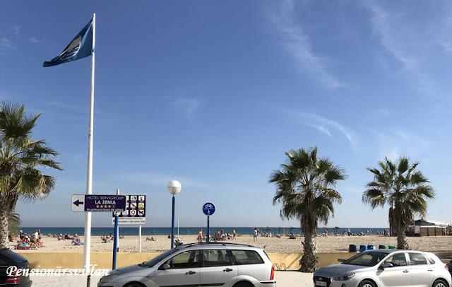 Stranden i Zenia och marknadsbesök
