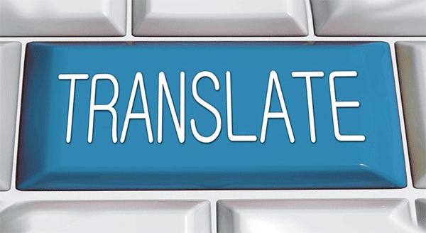 ilustrasi translate dokumen dalam bahasa asing secara online semua file