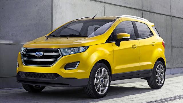 Ford EcoSport 2016 Facelift Revealed