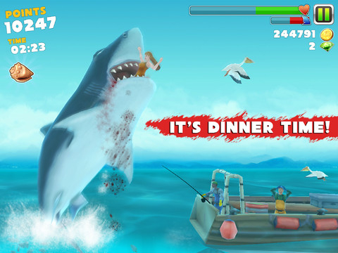 Cheat hungry shark tanpa root