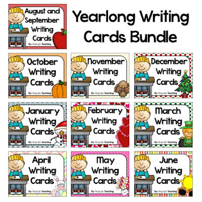 https://www.teacherspayteachers.com/Product/Yearlong-Writing-Cards-Bundle-1809220