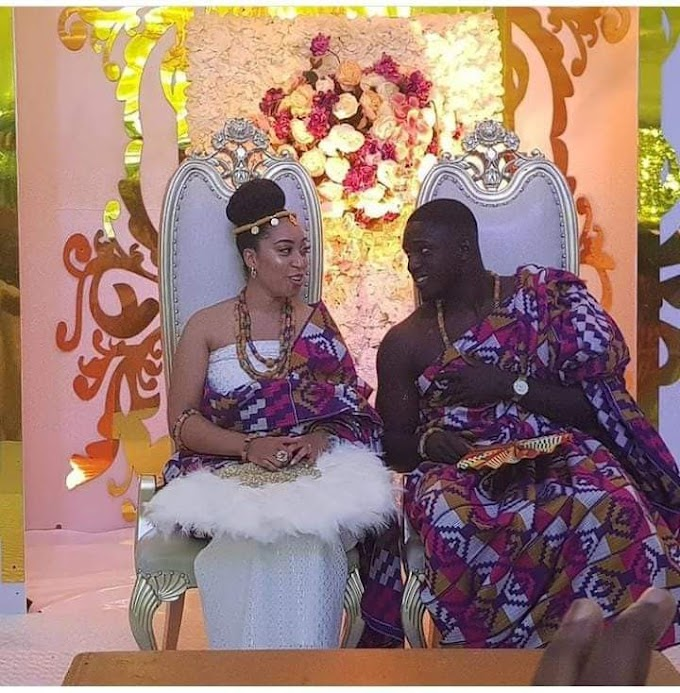 Traditional wedding of Pastor Chris Oyakhilome's daughter to her Ghanaian fiance, Phillip Frimpong