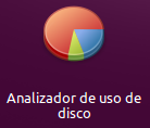 Analizador de uso de disco icono