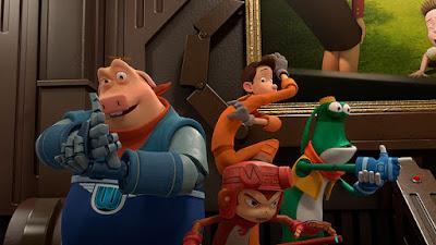 Только команда Супергероев может спасти ситуацию! Лучшие друзья из парка аттракционов готовятся вступить в битву с реальным злодеем! И они сделают все, чтобы спасти город и помочь своему другу спасти любовь!