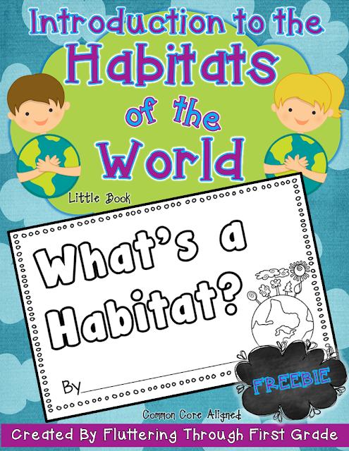 habitats of the world lesson plans fluttering through first grade bloglovin. Black Bedroom Furniture Sets. Home Design Ideas