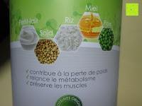 vorne: Lineavi Vitalkost – Der gesunde Diät Shake für Ihr Abnehmprogramm + Shaker, 500g (Starterpaket)