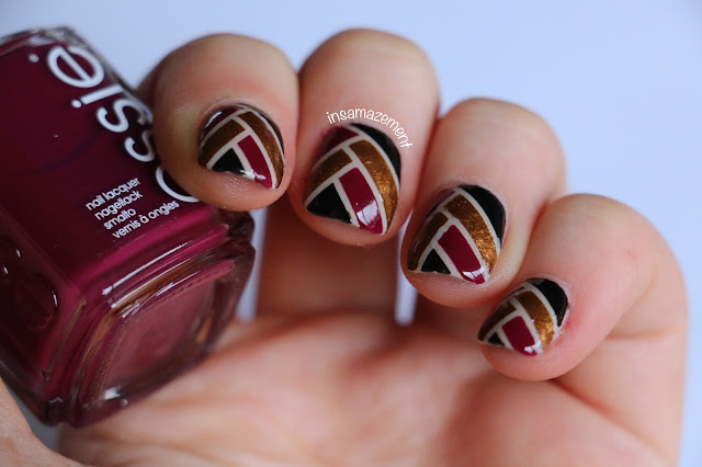 Ribbon Nail Art Tutorial