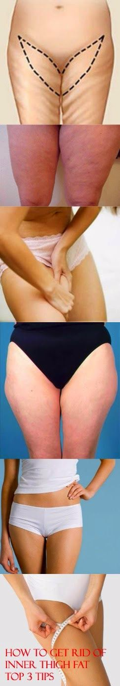 How to Get Rid of Inner Thigh Fat-Top 3 Tips