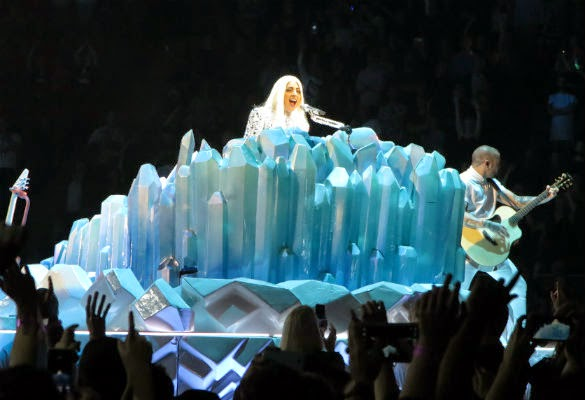 Lady Gaga's artRAVE' at the o2, 26th October 2014 - LONDON CITY NIGHTS