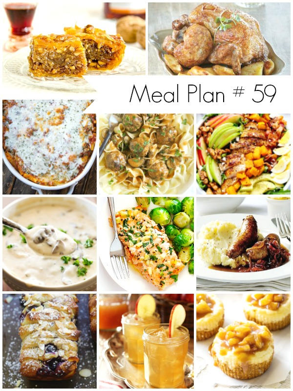 Recipes for your weekly meal planning - Ioanna's Notebook