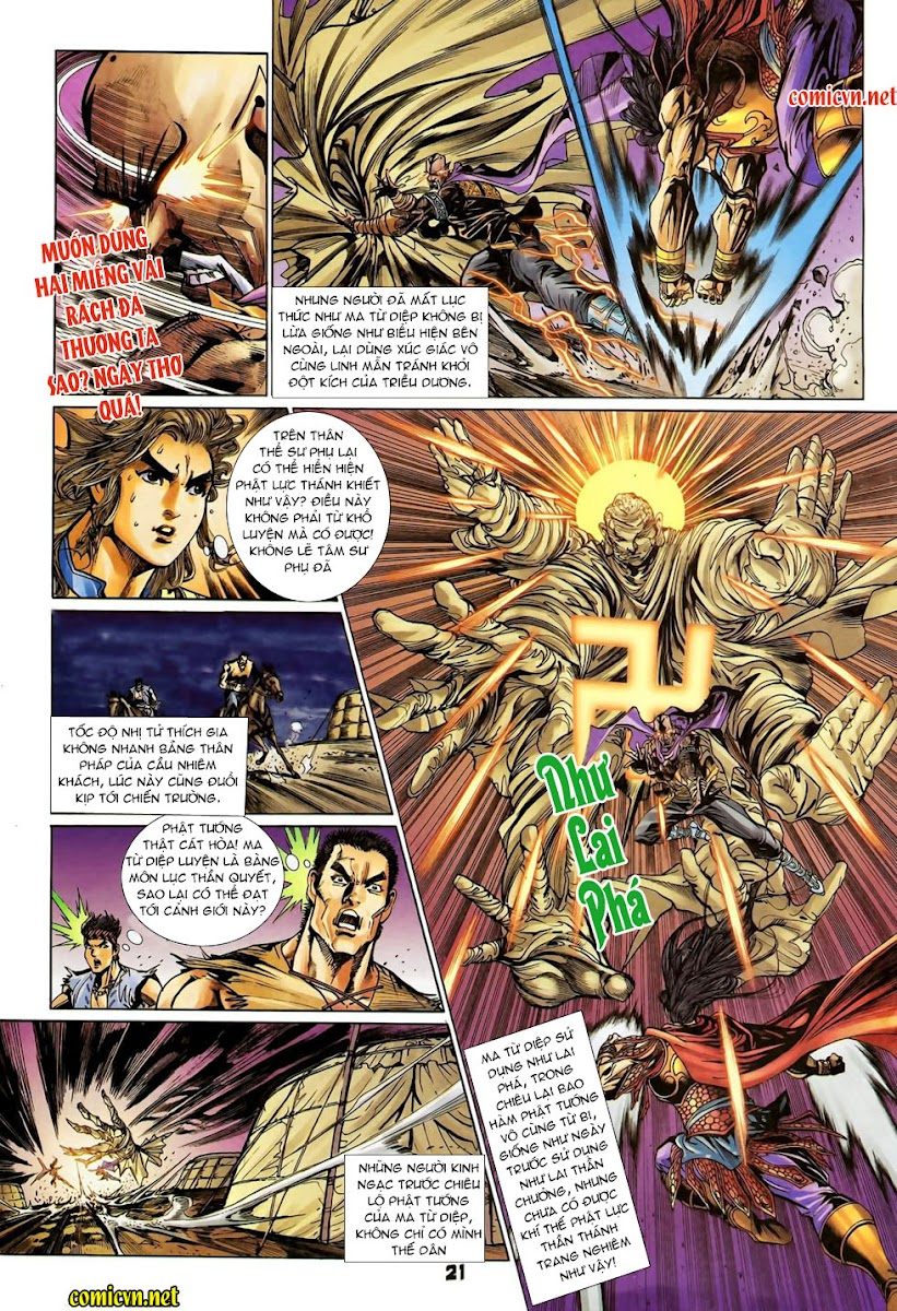 Đại Đường Uy Long chapter 92 trang 21