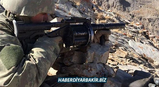 Diyarbakır Lice'de öldürülen 2 PKK'li yeşil kategoride aranıyordu