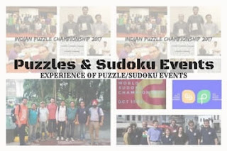 Read Experiences during Sudoku and Puzzle Events