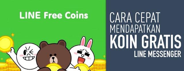 Cara Mendapatkan Banyak Koin Gratis di LINE