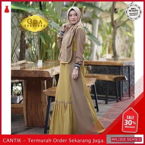 Jual RRJ308D197 Dress Syaira Syari Wanita St Terbaru Trendy BMGShop