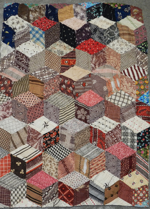 Barbara Brackman's MATERIAL CULTURE: Charm Quilts and Odd Fellows : charm quilt - Adamdwight.com