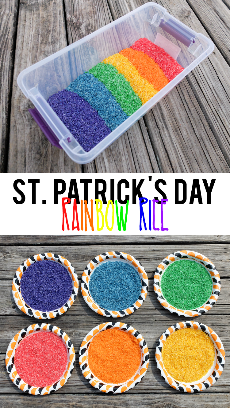 Sweet Turtle Soup: How to Make St. Patrick's Day Rainbow Rice