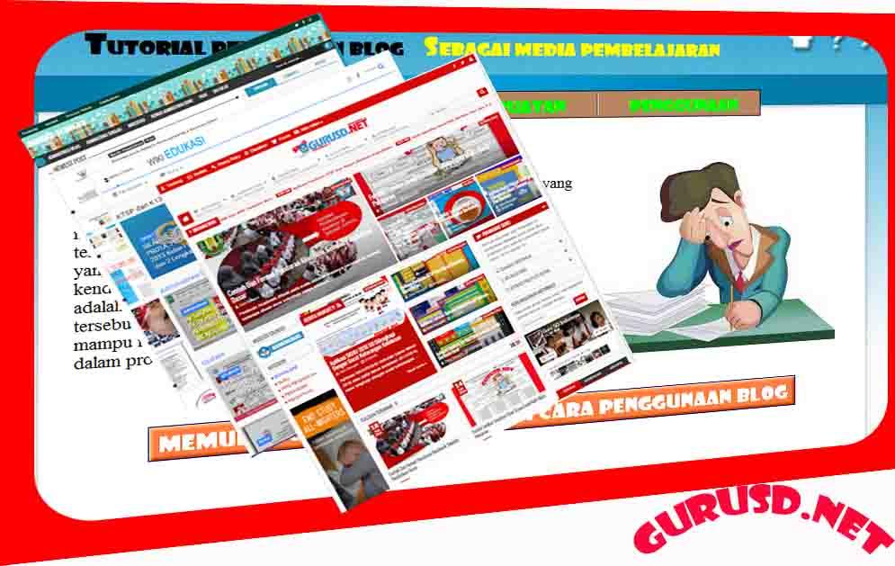 Aplikasi Panduan Pembuatan Blog Sebagai Media Pembelajaran Untuk Guru Kurikulum 2013 Revisi