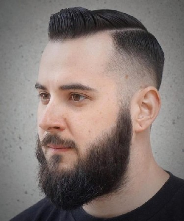 model rambut pria gendut yang bagus