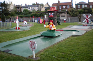 Photo of the Arnold Palmer Crazy Golf course at Pop's Meadow Putting Green in Gorleston-on-Sea, Norfolk
