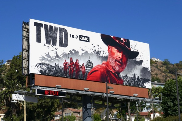 Walking Dead season 9 billboard