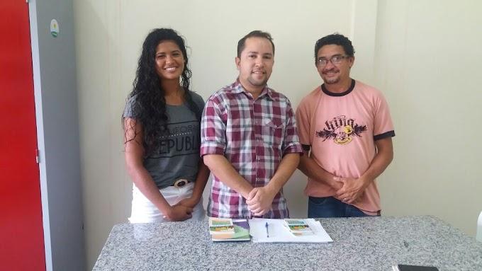 CAXIENSE: Atleta da Seleção Brasileira de Beach Handball visita instalações da Coordenação de Juventude