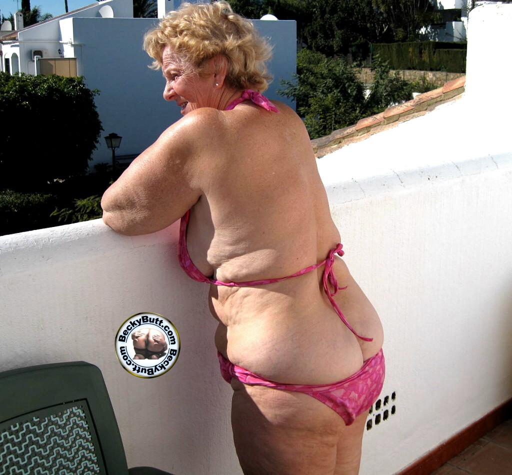 Mature older women thong tgp