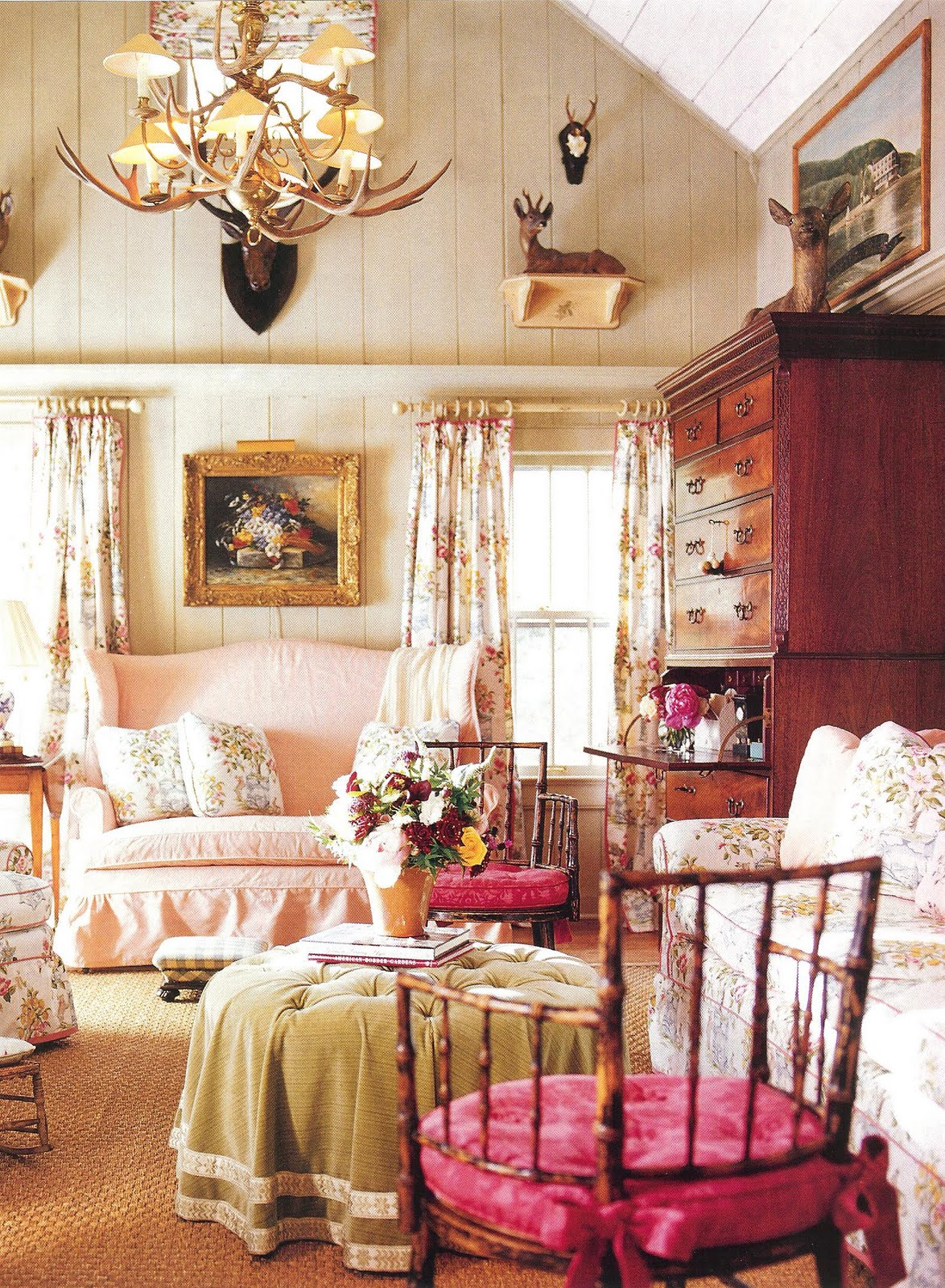 Old English Drawing Room: A Pinteresting Love Affair With A Living Room