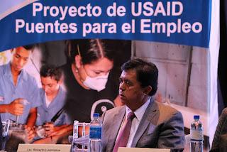 Proyecto de USAID Puentes para el Empleo
