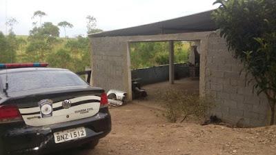 Guarda Civil de Piedade (SP) flagra oficina usada para desmanche de carros furtados