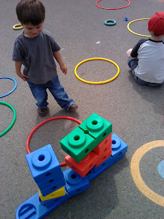 Child at play group
