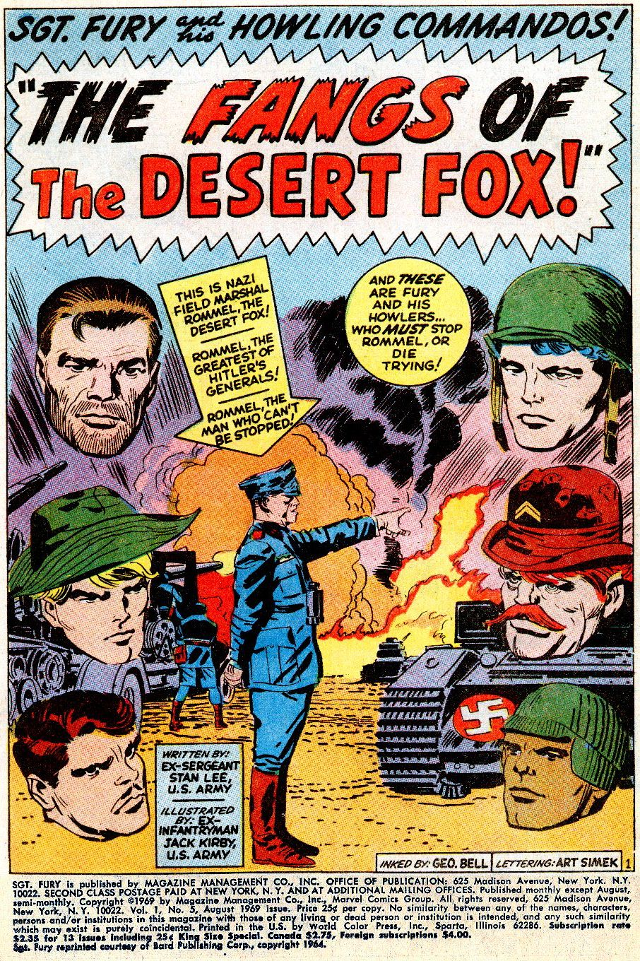 Read online Sgt. Fury comic -  Issue # _Special 5 - 3