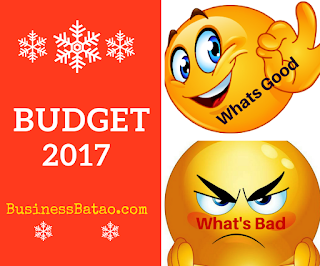 Main Points of Union Budget of India 2017