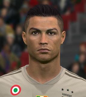 PES 2017 Faces Cristiano Ronaldo by Ben Hossam FaceMaker