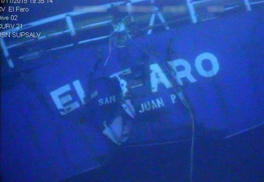 NTSB to Resume Search for El Faro's Voyage Data Recorder