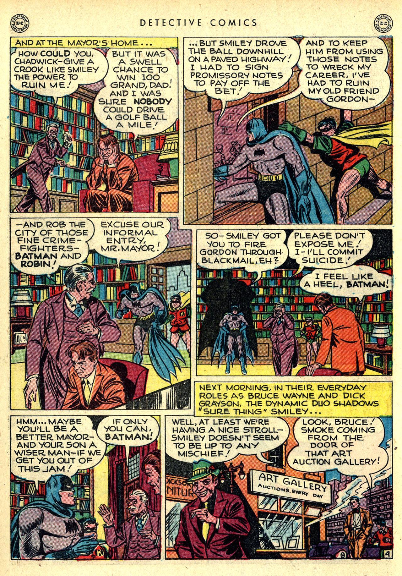 Read online Detective Comics (1937) comic -  Issue #121 - 6